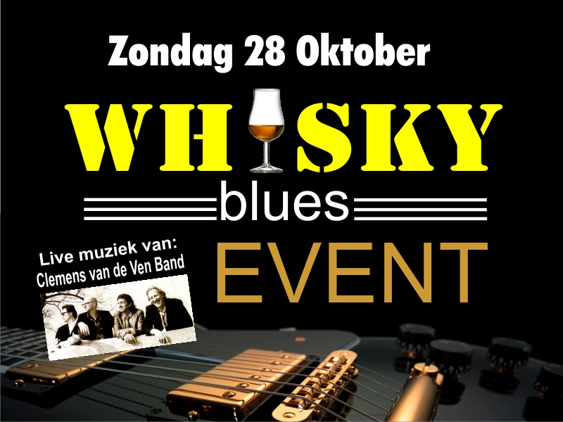 Foto aankonding Whisky Blues Event