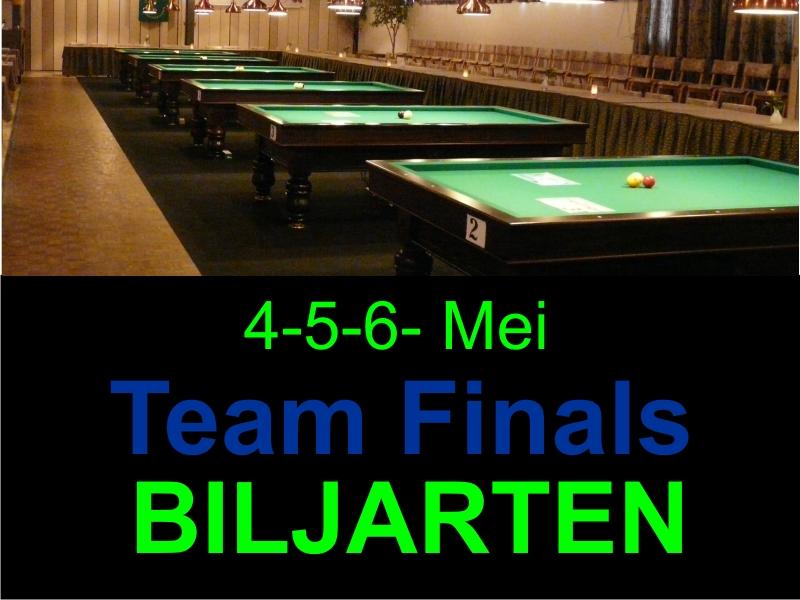 Teamfinals Biljarten
